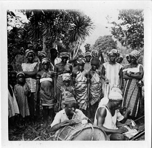 Mende people - Mende musicians in 1936
