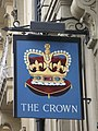 Sign for The Crown, New Oxford Street, WC1 - geograph.org.uk - 1293992.jpg