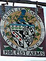 Sign for the Hollist Arms, Lodsworth - geograph.org.uk - 1328950.jpg