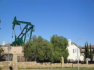 Signal Hill, California - Signal Hill oilfield pumpjack, 2011