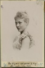 Sigrid Eliason, porträtt - SMV - H2 135.tif