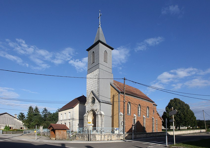 Église de Silley-Amancey (Doubs).