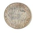 Silvermedalj, bröllopspenning - Skoklosters slott - 109204.tif