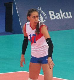 Silvija Popovic at the 2015 European Games.jpg