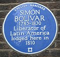 Simon Bolivar plaque London.jpg