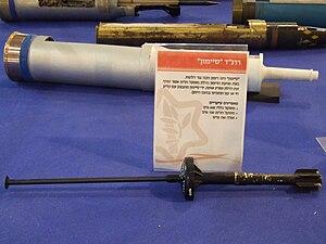 SIMON breach grenade - SIMON rifle grenade close up (bottom)