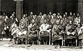 Sir Ugyen Wangchuck and his councillors at Punakha, Bhutan, 1905.jpg