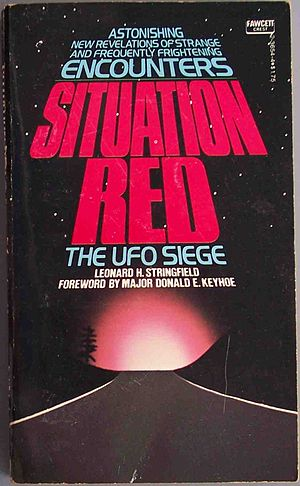 Leonard H. Stringfield - The cover of Leonard H. Stringfield's 1977 book, Situation Red.