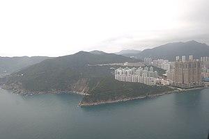 Cape Collinson - Aerial view of Cape Collinson and Siu Sai Wan