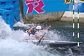 Slalom canoeing 2012 Olympics C2 GBR Timothy Baillie and Etienne Stott 2.jpg
