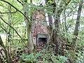 Slatehole Lodge, Auchinleck Estate, East Ayrshire - old chimney stack and fireplace.jpg