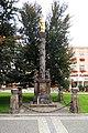 Sloup se sochou Panny Marie (Prostějov), nám. TGM.jpg