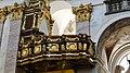 Slovénie, Ljubljana, Cathédrale Saint-Nicolas (Stolnica svetega Nikolaja), Balcon et buffet d'orgue (1710-1711) (45196159675).jpg