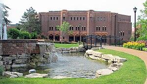 Saint Louis Billikens - The old gymnasium at Saint Louis University.