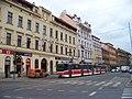 Smíchov, Štefánikova 25 - 35, tramvaj 9059.jpg
