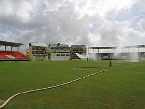 Cricket in the West Indies - Providence Stadium in Georgetown, Guyana, one of the premier cricket grounds in the West Indies.