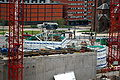 Snowhill Phase 3 hotel core in August 2008.JPG