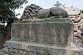 Socha lva v zámeckém parku v Litomyšli 2019 02.jpg