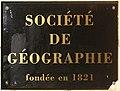Société de géographie plaque 04923.jpg
