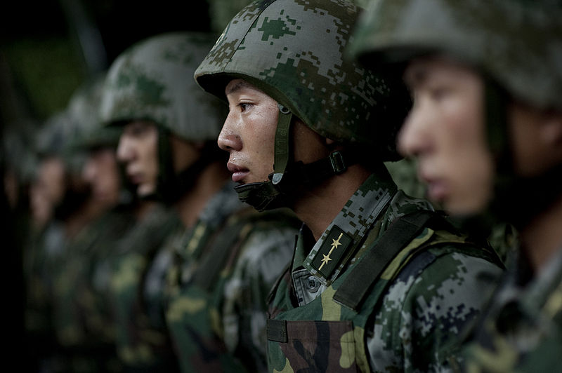 File:Soldiers of the Chinese People's Liberation Army - 2011.jpg