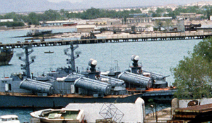 Somali Navy - Two Somali Navy missile boats in August 1983.