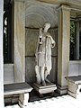 Sonnenberg Gardens and Mansion State Historic Park Statue of Diana Side View.JPG