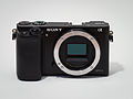 Sony Alpha ILCE-6000 APS-C-frame camera no body cap.jpeg