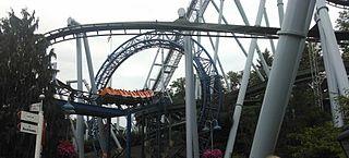 SooperDooperLooper Looping roller coaster at Hersheypark