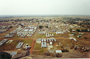 Soroti - View of central Soroti from the rock
