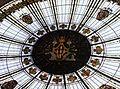 Sostre amb vidriera de l'edifici de Correus i telègrafs de València.jpg