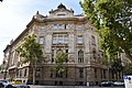 South-Eastern facade of headquarters of the Hungarian National Bank.jpg