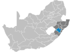 South Africa Districts showing Umgungundlovu.png