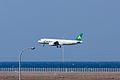 Spring Airlines ,9C8589 ,Airbus A320-214 ,B-6863 ,Arrived from Shanghai ,Kansai Airport (16661468752).jpg