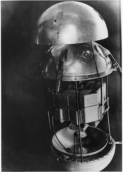 Sputnik1 exploded view