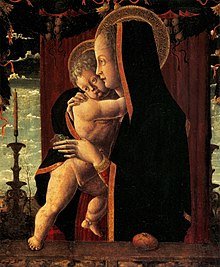 Francesco Squarcione, Madonna col Bambino (1455), Berlino, Gemäldegalerie