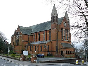 St John the Evangelist, Upper Norwood - Image: St.John, Upper Norwood geograph.org.uk 1182390