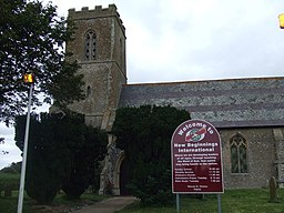 St. Denis church, Wangford, Suffolk (close up) - geograph.org.uk - 544835.jpg