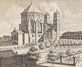St. Gereon, Johann Peter Weyer (Zeichnung) und Anton Wünsch (Lithografie), 1827 (from book).jpg