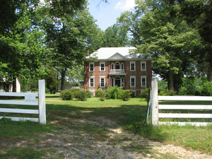 Historic home listed on the National Register of Historic Places in Spotsylvania County