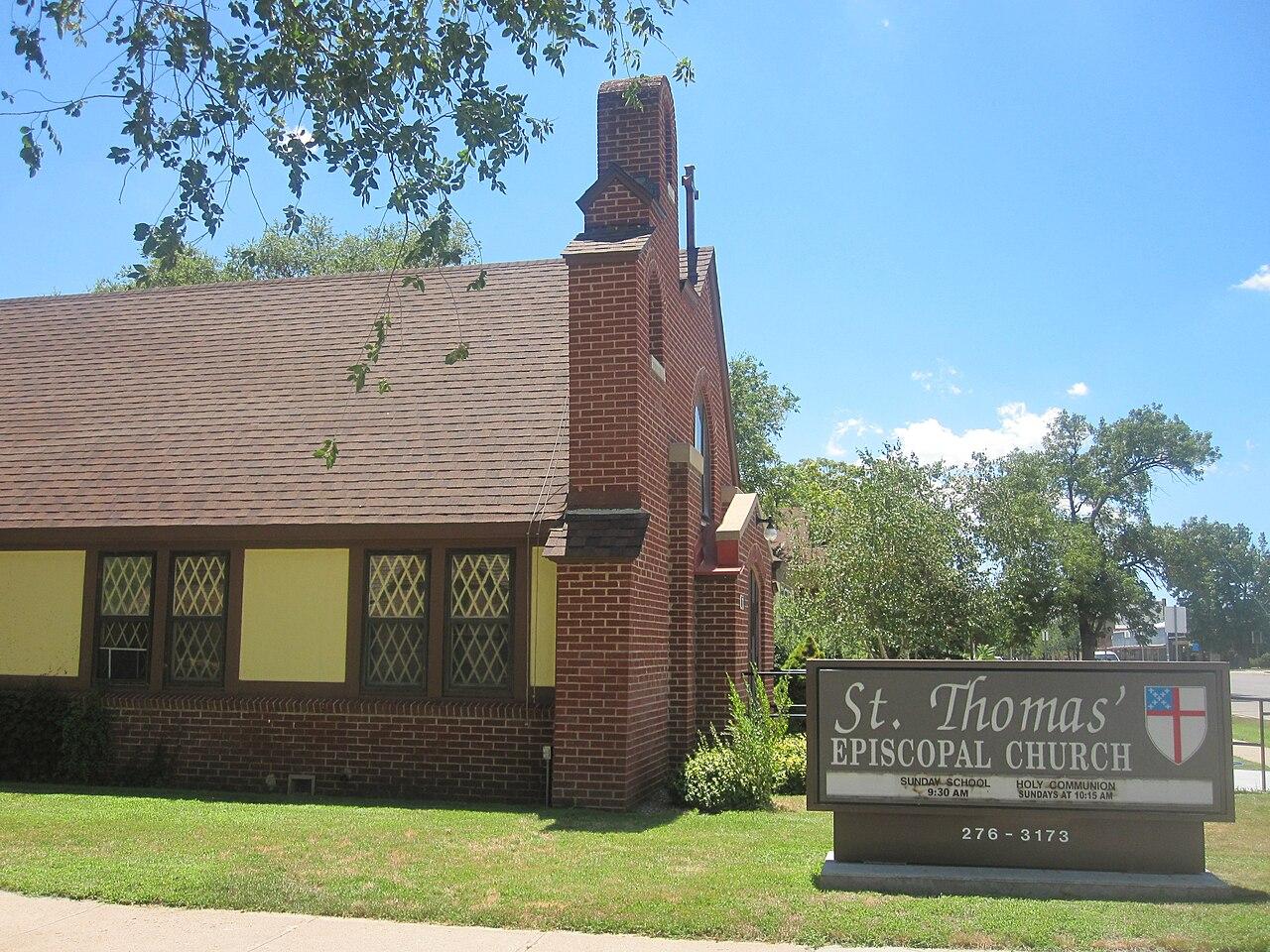 File St Thomas 39 Episcopal Church Garden City Ks Img 5872 Jpg Wikipedia
