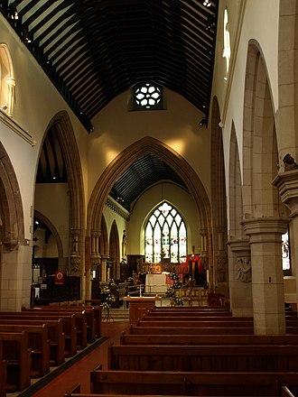 Church of St Mary Magdalene, Hucknall - Image: St Mary Hucknall 1