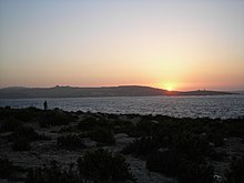 StPaulsBay at sunset.JPG