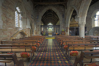 Church of St Andrew, Clifton Campville Church in Staffordshire, England