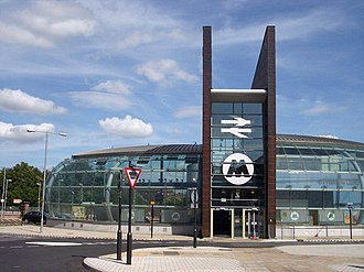 St Helens Central railway station - Image: St Helens Central New Station