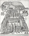 St John's College, Cambridge by Loggan 1690.jpg