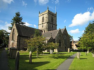 Church Stretton - St Laurence's Church, a largely Norman structure, but with Saxon origins