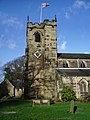 St Mary's Parish Church, Penwortham, Tower - geograph.org.uk - 669776.jpg