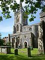 St Mary's tower, Faversham.JPG