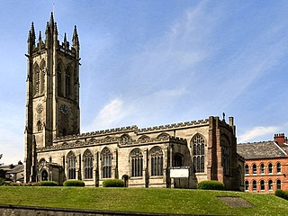 St Michael and All Angels Church, Ashton-under-Lyne Grade I listed church in the United Kingdom