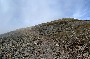 Croagh Patrick - Image: St Patrick Mountain 3
